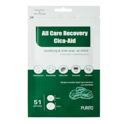 All Care Recovery Cica-Aid Plastry na niedoskonałości 51szt Purito