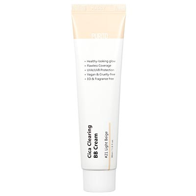 Cica Clearing BB Cream #21 Light Beige 30ml Purito