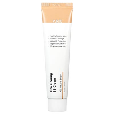 Cica Clearing BB Cream #23 Natural Beige 30ml Purito
