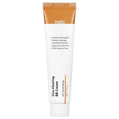 Cica Clearing BB Cream #27 Sand Beige 30ml Purito