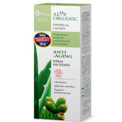 Aloe Organic Krem na dzień anti-aging 50ml Ava