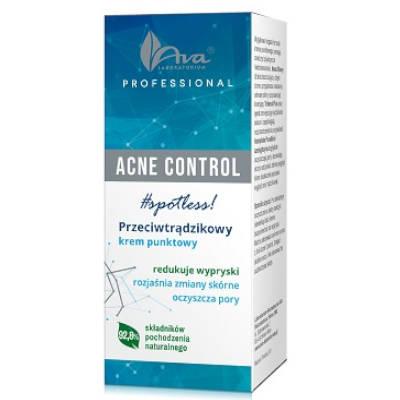 Acne Control Professional Przeciwtrądzikowy krem punktowy 15ml Ava
