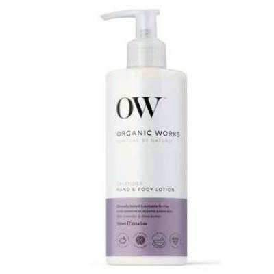 Organic Works organiczny kojący balsam nawilżający do ciała i rąk Lawenda 300ml